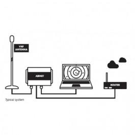 AISNET NETWORK AIS BASE STATION RECEIVER WITH BUILT IN AIS-VHF ANT SPLITTER AISNET NETWORK AIS BASE STATION RECEIVER WITH BUILT IN AIS-VHF ANT SPLITTER