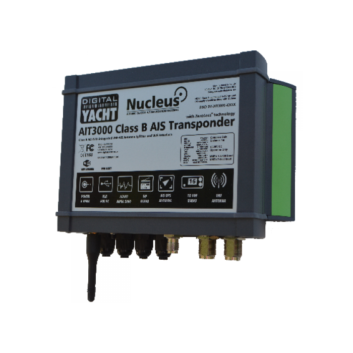AIT3000 CLASS B TRANSPONDER WITH SPLITTER AND WIFI AIT3000 CLASS B TRANSPONDER WITH SPLITTER AND WIFI