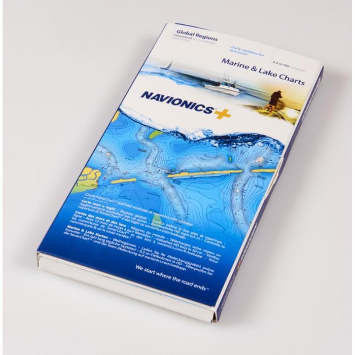 Mapa Navionics+(nośnik CompactFlash) Mapa Navionics+ (nośnik CompactFlash)