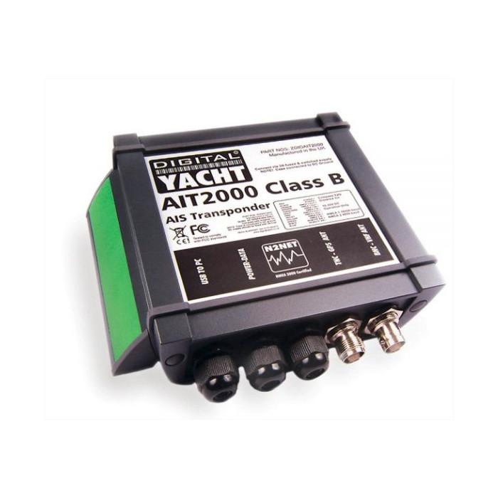 Transponder klasy B (w komplecie antena GPS i VHF)