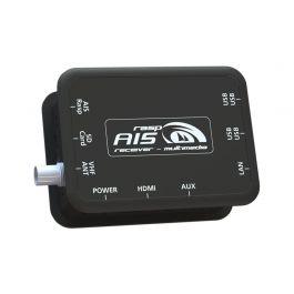 RaspAIS - dwukanałowy odbiornik AIS (z interfejami USB, WiFi i LAN)