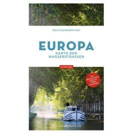 Mapa dróg wodnych Europy