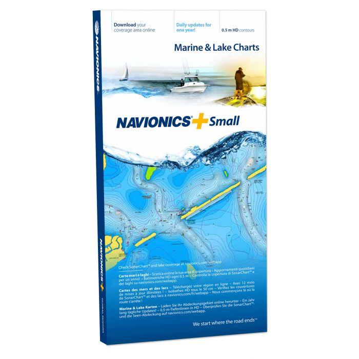 Mapa Navionics+ SMALL (Mały obszar nośnik MSD)