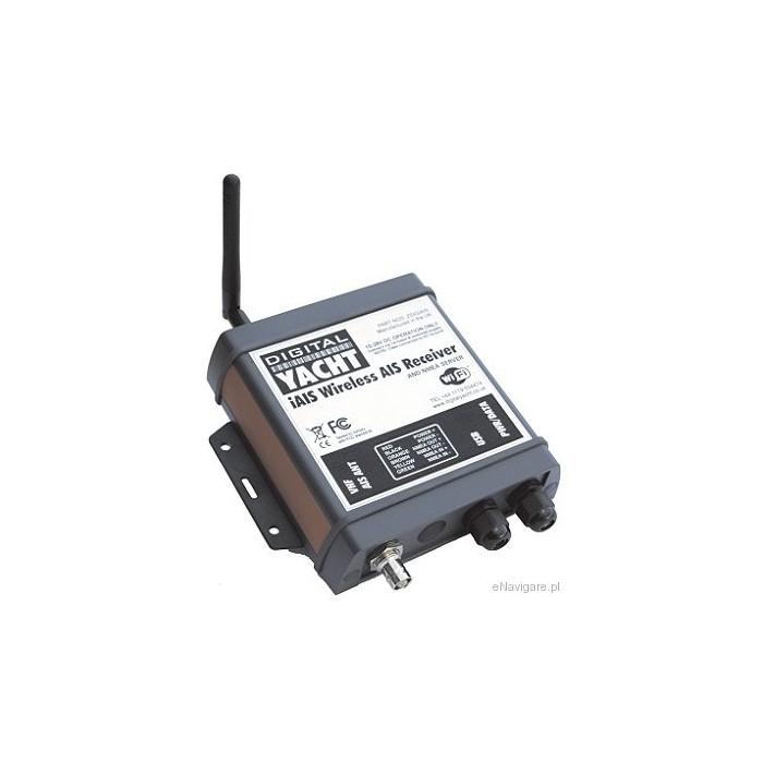 Dwukanałowy, bezprzewodowy odbiornik AIS (dla iPHONE, iTOUCH, iPad) Dwukanałowy, bezprzewodowy odbiornik AIS  (dla iPHONE, iTOUCH,