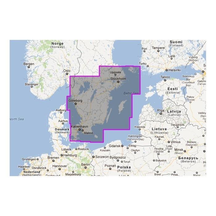 WVNEN17MAP - Sweden South WVNEN17MAP - Sweden South