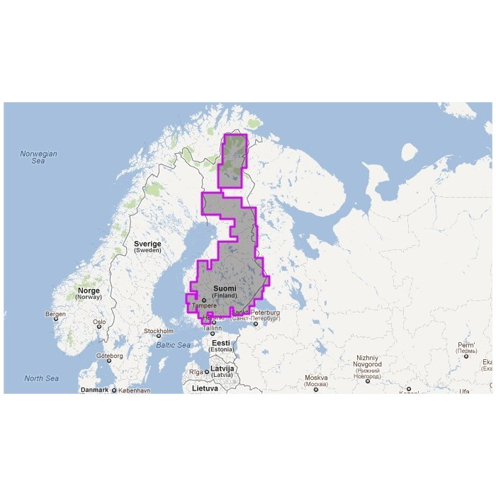 V51MAP-Finnish Lakes V51MAP-Finnish Lakes