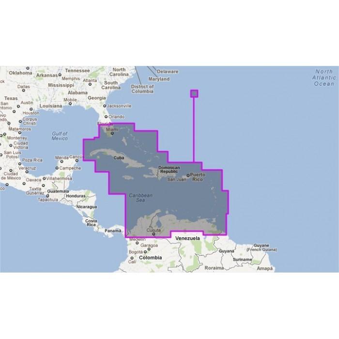 V908MAP-Caribbean & Bermuda Bahamas V908MAP-Caribbean & Bermuda Bahamas
