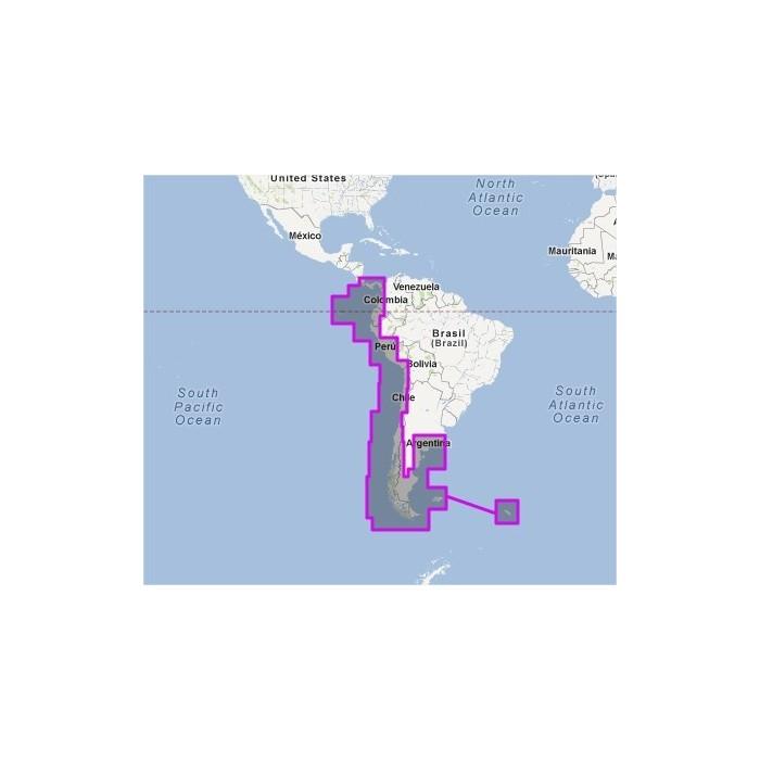 V910MAP-South America West V910MAP-South America West