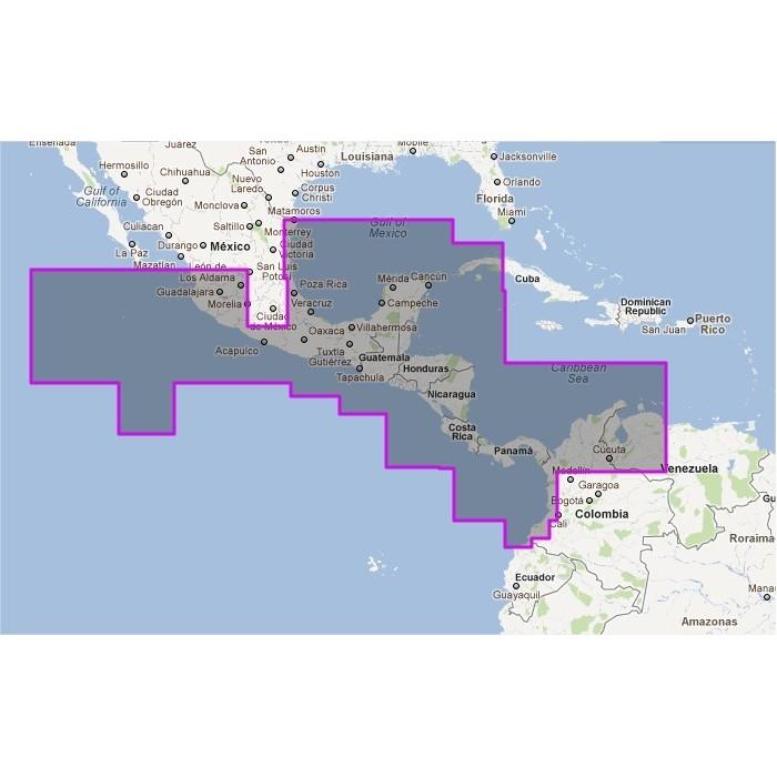 V911MAP-Central America V911MAP-Central America