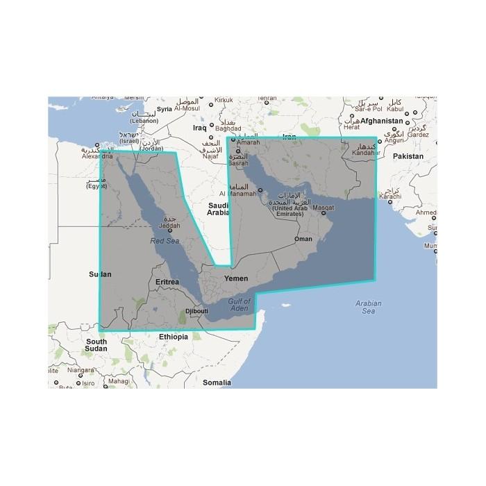 R43P-MAP/01-Red Sea - Arabian Gulf R43P-MAP/01-Red Sea - Arabian Gulf