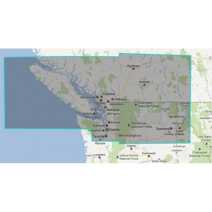 R913MAP-Canada Vancouver Island R913MAP-Canada Vancouver Island