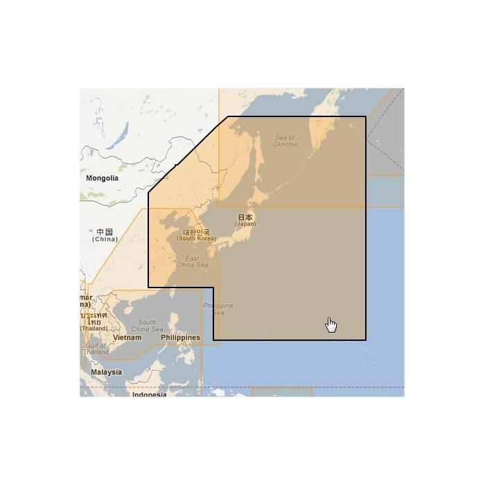 MWVJANM001MAP-East China Sea to Kamchatka MWVJANM001MAP-East China Sea to Kamchatka