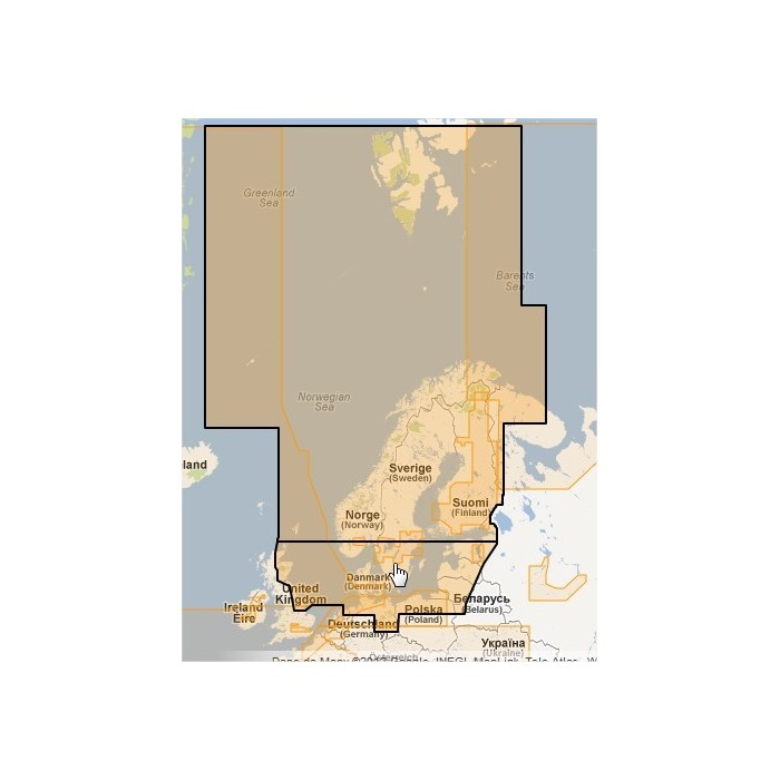MWVJENM019MAP-North and Baltic Seas MWVJENM019MAP-North and Baltic Seas