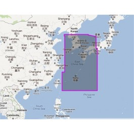 WVJANM202MAP-Korea Strait to Okinawa Shima