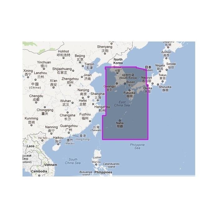 WVJANM202MAP-Korea Strait to Okinawa Shima WVJANM202MAP-Korea Strait to Okinawa Shima