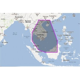 WVJASM201MAP-Gulf of Thailand to Hainan Dao