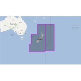 WVJAUM222MAP-New Zealand, Chatham Island and Kermadec Island