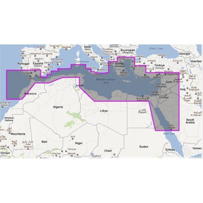 WVJEMM112MAP-South Mediterranean and Aegean Seas WVJEMM112MAP-South Mediterranean and Aegean Seas