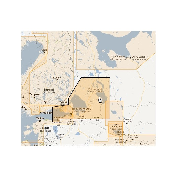 WVJENM604MAP-Russian Lakes WVJENM604MAP-Russian Lakes