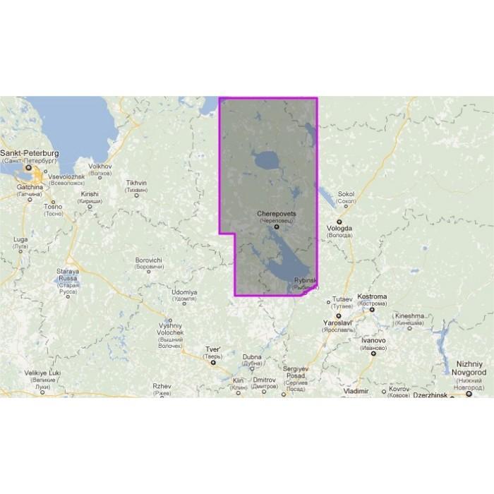 WVJENM608MAP-Russia - Volgo Baltic Channel WVJENM608MAP-Russia - Volgo Baltic Channel