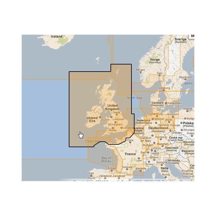 WVJEWM226MAP-UK, Ireland and the Channel WVJEWM226MAP-UK, Ireland and the Channel