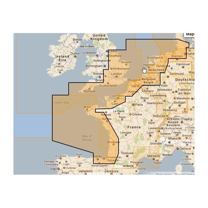 WVJEWM227MAP-North-West European Coasts WVJEWM227MAP-North-West European Coasts