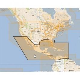 WVJNAM027MAP-Central America & Caribbean