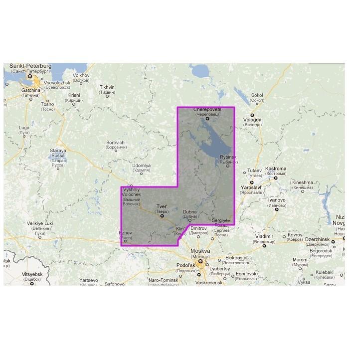 WVJRSM212MAP-Russia - Tver - Rybinsk WVJRSM212MAP-Russia - Tver - Rybinsk
