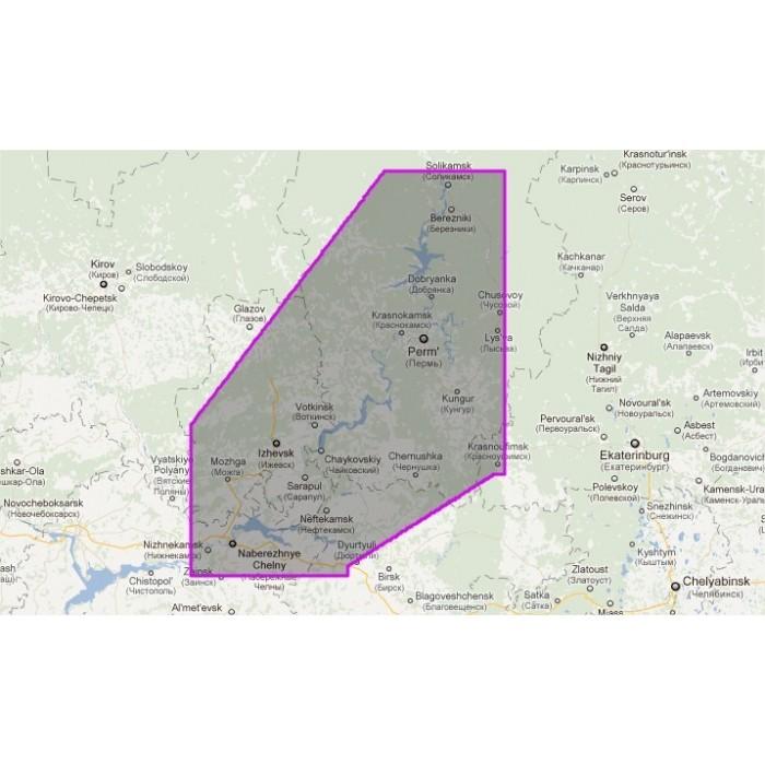 WVJRSM216MAP-Russia - Kama River WVJRSM216MAP-Russia - Kama River