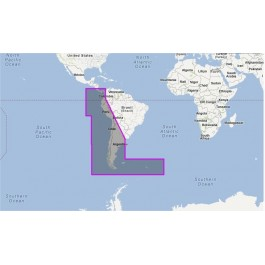 WVJSAM500MAP-Costa Rica to Chile to Falklands