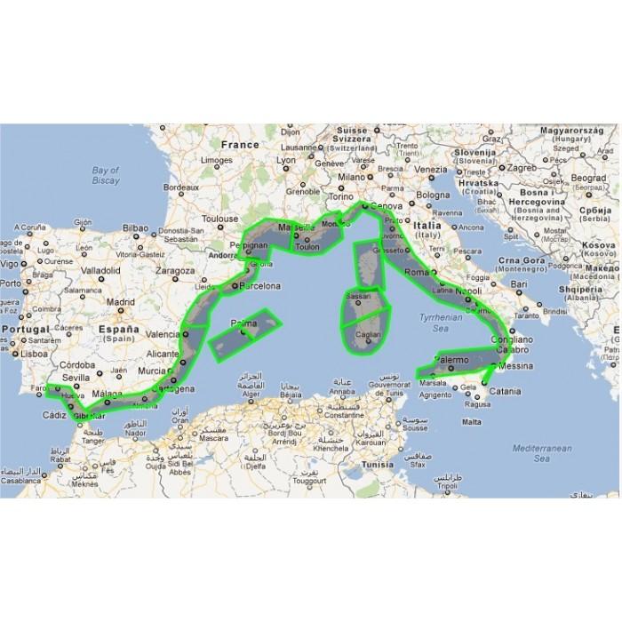 32PHOTOS-Mediterranean Sea West 32PHOTOS-Mediterranean Sea West