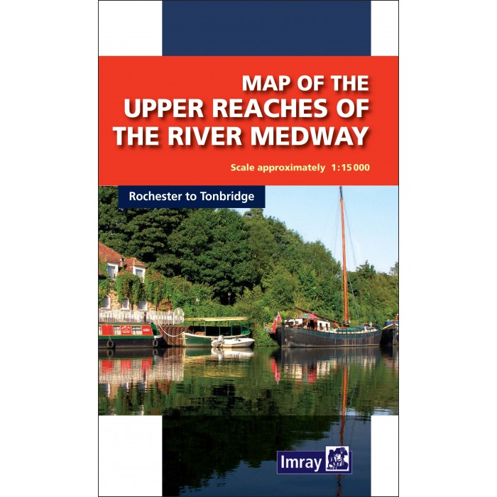Map of The Upper Reaches of The River Medways Map of The Upper Reaches of The River Medways