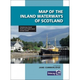 Map of the Inland Waterways of Scotland