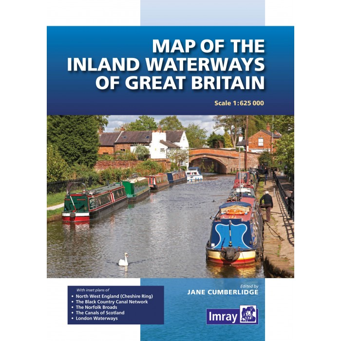 Map of the Inland Waterways of Great Britain Map of the Inland Waterways of Great Britain