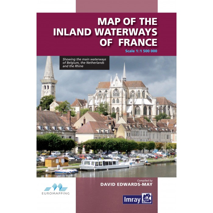 Map of the Inland Waterways of France Map of the Inland Waterways of France