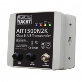X AIT1500 CLASS B TRANSPONDER WITH INT GPS ANT (NMEA 2000)