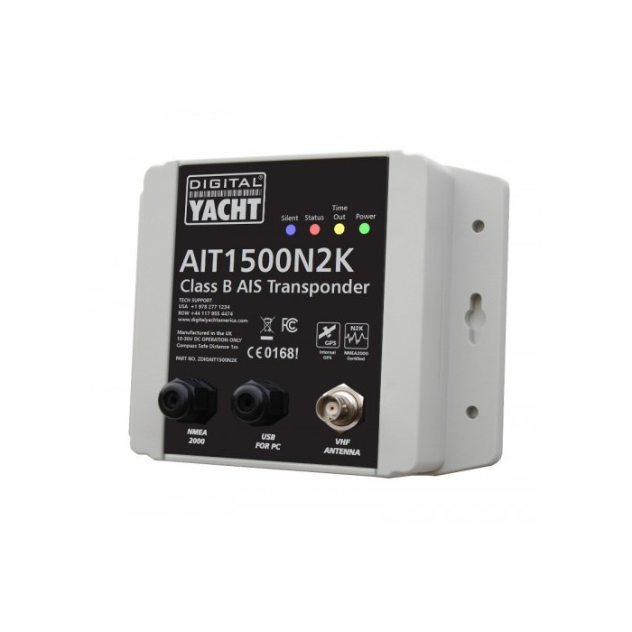 X AIT1500 CLASS B TRANSPONDER WITH INT GPS ANT (NMEA 2000) X AIT1500 CLASS B TRANSPONDER WITH INT GPS ANT (NMEA 2000)
