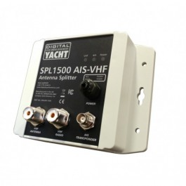 X SPL1500 VHF ANTENNA SPLITTER FOR VHF/AIS OPERATION FROM 1 ANT