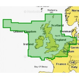 Mapa wektorowa 28XG UK-IRELAND & HOLLAND Gold SD/MSD