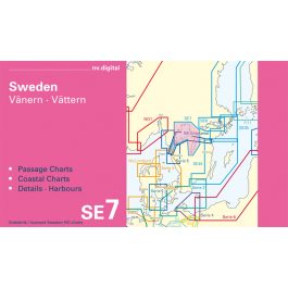 SE7, Sweden, Vänern · Vättern Europe - Baltic Sea, CD, 2012