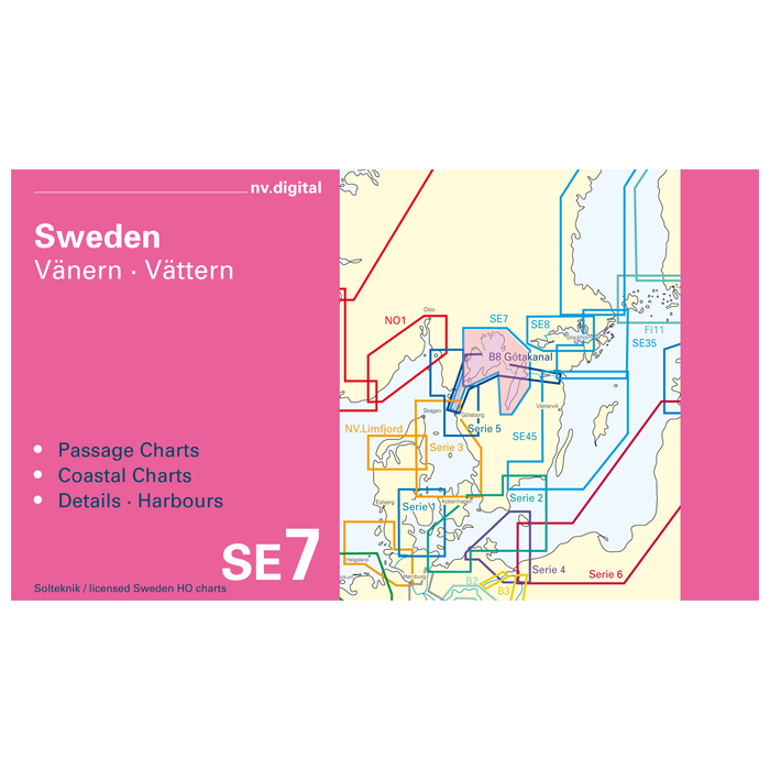 SE7, Sweden, V? nern V? ttern Europe - Baltic Sea, CD, 2012 SE7, Sweden, Vänern · Vättern Europe - Baltic Sea, CD, 2012