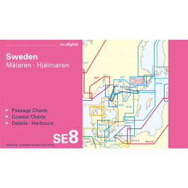 SE8, Sweden, Mälaren · Hjälmaren Europe - Baltic Sea, CD, 2012