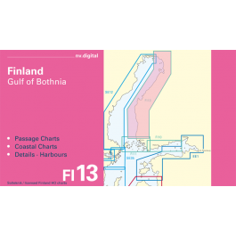 FI13, Finland, Gulf of Bothnia, Nystad to Tornio Europe - Baltic Sea, CD, 2011