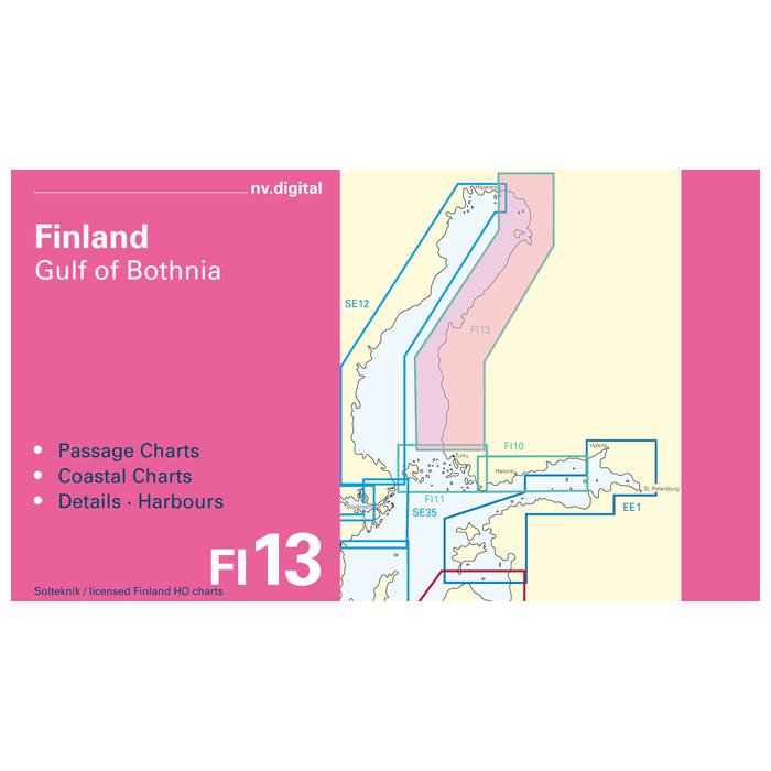 FI13, Finland, Gulf of Bothnia, Nystad to Tornio Europe - Baltic Sea, CD, 2011 FI13, Finland, Gulf of Bothnia, Nystad to Tornio Europe - Baltic Sea, CD, 2011