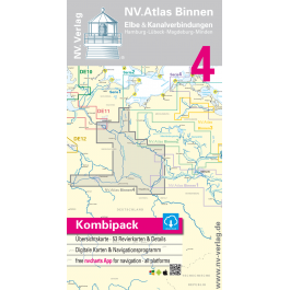NV. Binnen 4, Die Elbe und Kanalverbindungen* Europe - Inland Waterways, Paper+CD, 2008