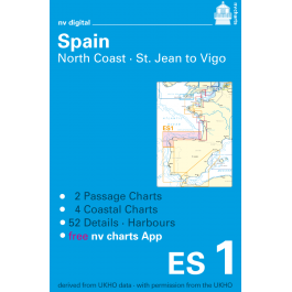 ES1, Spain, North Coast Europe - Atlantic, Mediterranean, CD, 2011