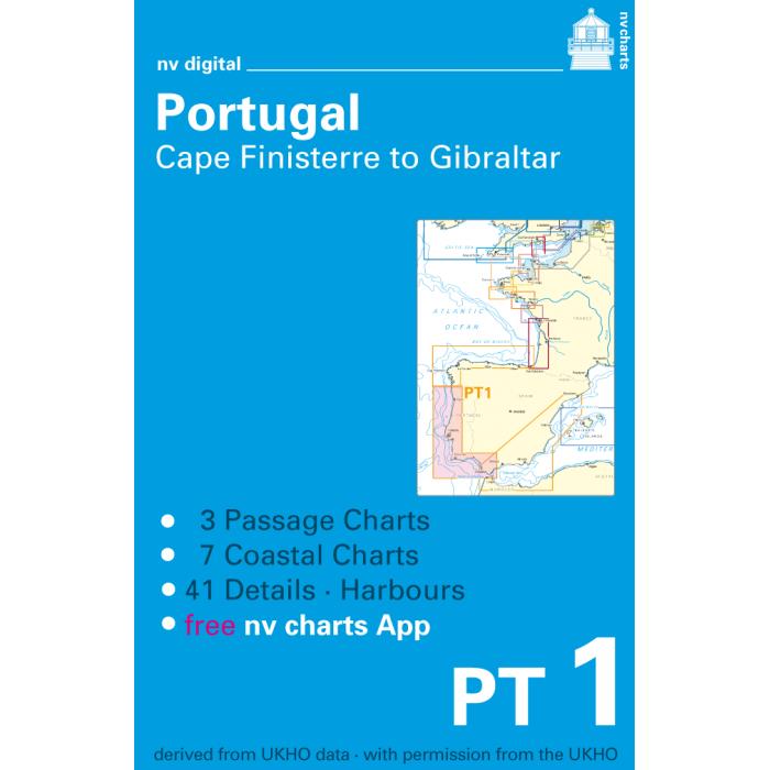 PT1, Portugal, Cape Finisterre to Gibraltar Europe - Atlantic, Mediterranean, CD, 2010 PT1, Portugal, Cape Finisterre to Gibraltar Europe - Atlantic, Mediterranean, CD, 2010