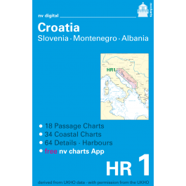 HR1, Croatia, Slovenia, Montenegro and Albania Europe - Atlantic, Mediterranean, CD, 2012