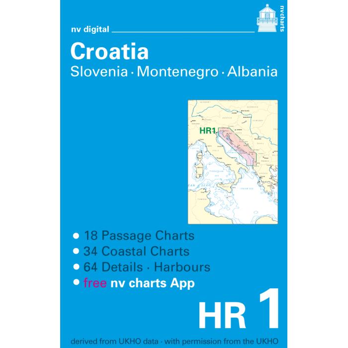 HR1, Croatia, Slovenia, Montenegro and Albania Europe - Atlantic, Mediterranean, CD, 2012 HR1, Croatia, Slovenia, Montenegro and Albania Europe - Atlantic, Mediterranean, CD, 2012