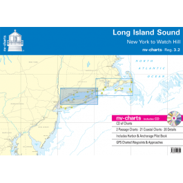 nv-charts Region 3.2, Long Island Sound* America - US East Coast, Paper+CD, 2010